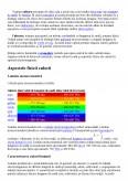 Imagine document Culoarea si Perceptia Culorii
