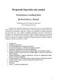 Imagine document Drepturile lingvistice ale omului