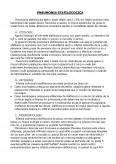 Pneumonia Stafilococica