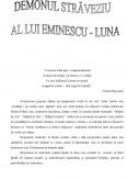 Mihai Eminescu Luna - Demonul straveziu