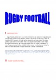 Proiect Rugby Football