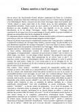 Imagine document Gluma sumbra a lui Caravaggio