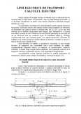 Imagine document Linii Electrice de Transport - Calculul Electric