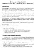 Evaluarea Intreprinderii - Abordarea pe Baza de Active in Evaluarea Intreprinderii