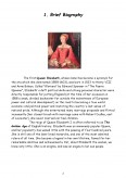 Imagine document Queen Elizabeth I