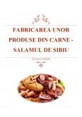 Imagine document Fabricarea unor produse din carne - Salamul de Sibiu