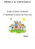 Imagine document Proiect de parteneriat - Invata sa traiesti romaneste, o saptamana la bunicii din Bucovina