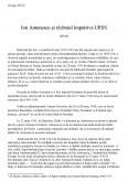 Imagine document Ion Antonescu si razboiul impotriva URSS