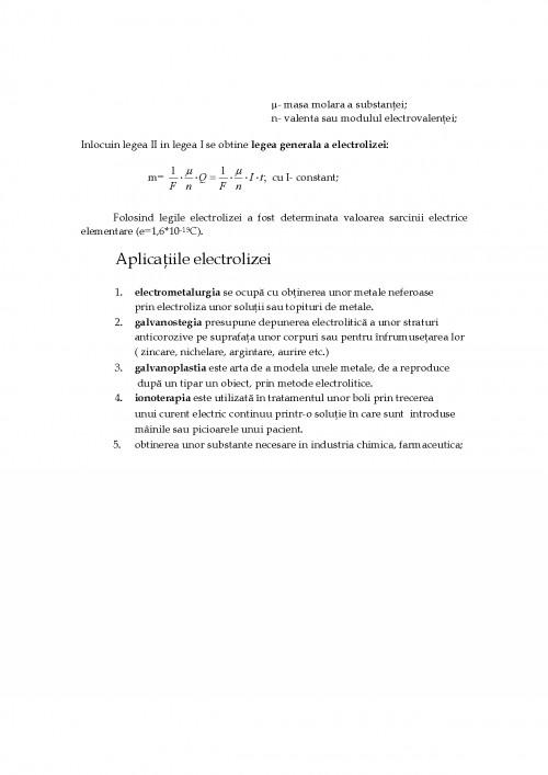 Proiect Efectul Chimic Al Curentului Electric 166615