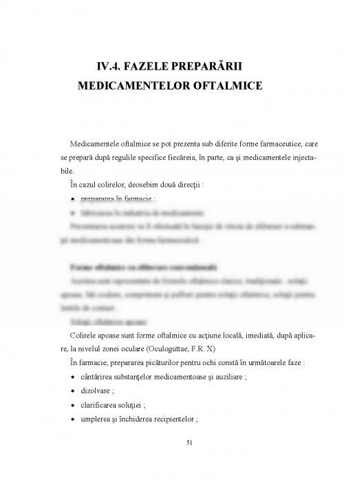 Solutii Oftalmice Oculoguttae Caracteristici ale tehnologiei soluțiilor oftalmice