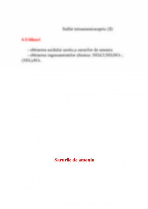 Referat: Azotul Si Compusii Lui (#334895) - Graduo