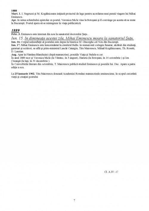 Referat: Mihai Eminescu Bibliografie (#338459) - Graduo