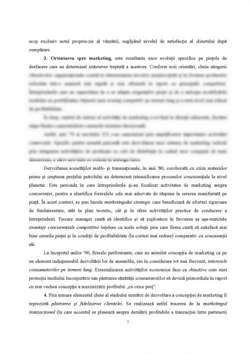 Curs: Marketing - Teorie si aplicatii (#346651) - Graduo