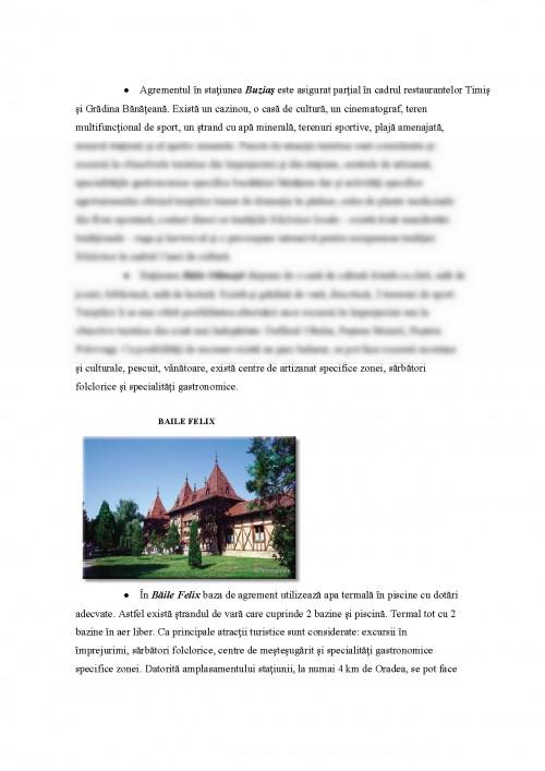 Referat: Turismul Balnear in Romania (#384395) - Graduo